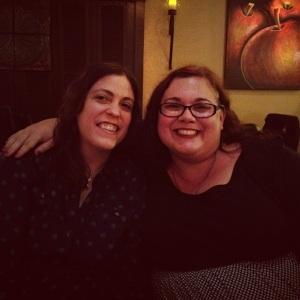 Kristina and me on my 40th birthday.